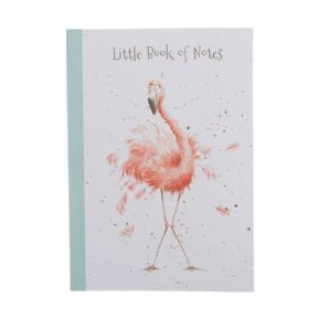 Wrendale A5 Flamingo Notebook